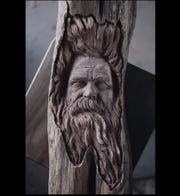 Oakland County artist Alec LaCasse carves sculptures out of wood. He'll demonstrate his craft Aug. 3-4 at Fine Art at the Village of Rochester Hills.
