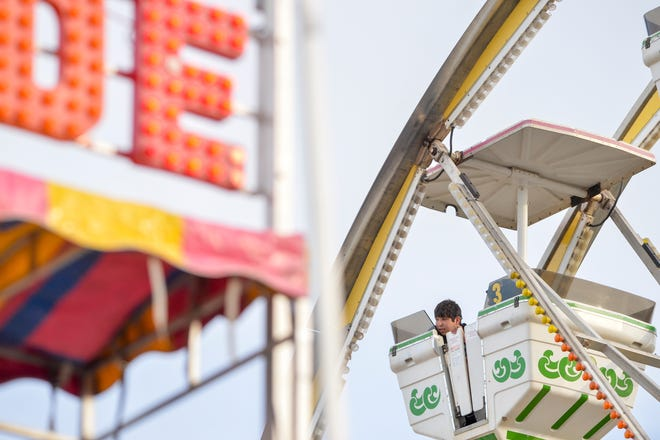 The opening day of the Montana State Fair at Montana ExpoPark in Great Falls, Friday, July 26, 2019.