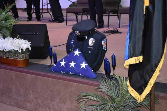 Southport Police Department's Lt. Aaron Allan was killed in the line of duty two years ago. His service was remembered during a recruit graduation ceremony Saturday at the Indianapolis Baptist Temple.