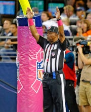 NFL referee Terry Brown was a defensive back at Tennessee from 1982-86.