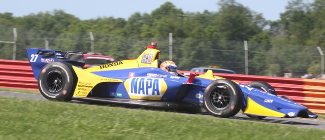 The Indycar series will return to Mid-Ohio on Saturday and Sunday for a doubleheader.