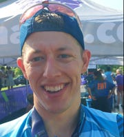 Chris Douglas from Atlanta won the Music City Triathlon by three seconds over defending champion Alan Horton Saturday.