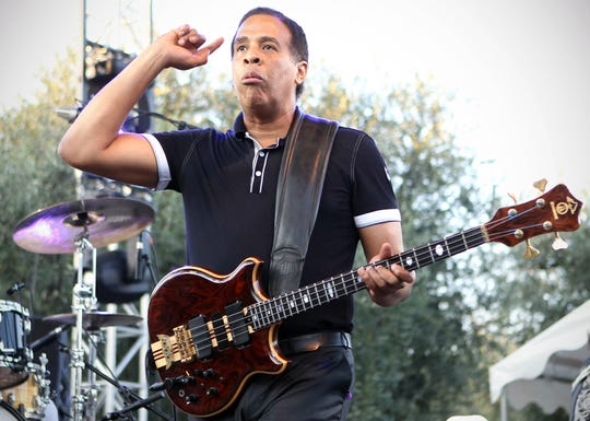 Stanley Clarke performs at the Nice's Jazz Festival on July 21, 2010 in Nice, southeastern France.