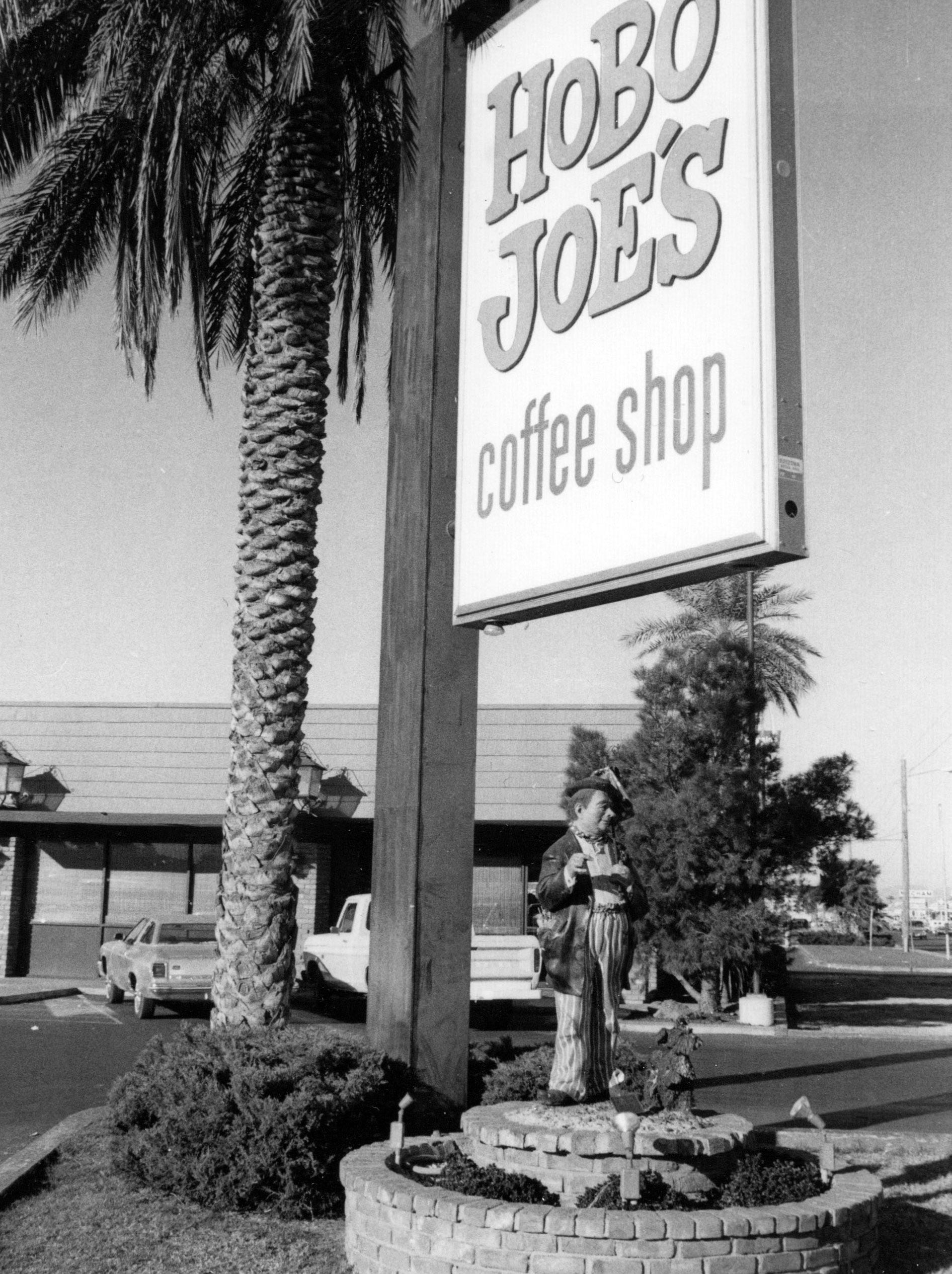 As the Hobo Joe's coffee shops grew across Phoenix, its founder, Herb Applegate, drew the attention of Arizona Republic reporter Don Bolles. The shops were known for the statue of Hobo Joe, a character designed specifically for Applegate.