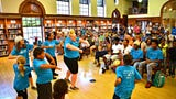 Positive Energy Arts Dance Camp 2019 final showcase at Martin Library, Friday, July 26, 2019.