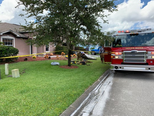 A fire damaged a home in the Waters Edge subdivision in Indian River County Saturday. No one was injured.