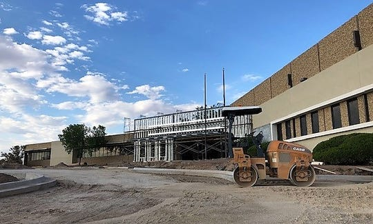 The Teleperformance call center, under construction at 1462 Lionel Drive in East El Paso, is expected to open in mid-August.