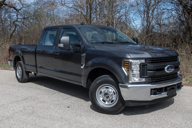 The 2019 Ford F-250 Super Duty XL.