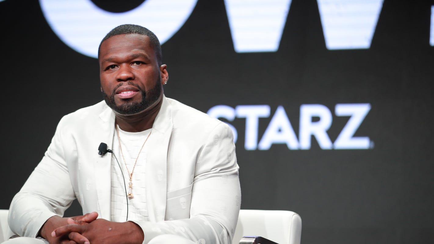 Rapper 50 Cent made a pit stop in El Paso Thursday as part of cognac, champagne tour