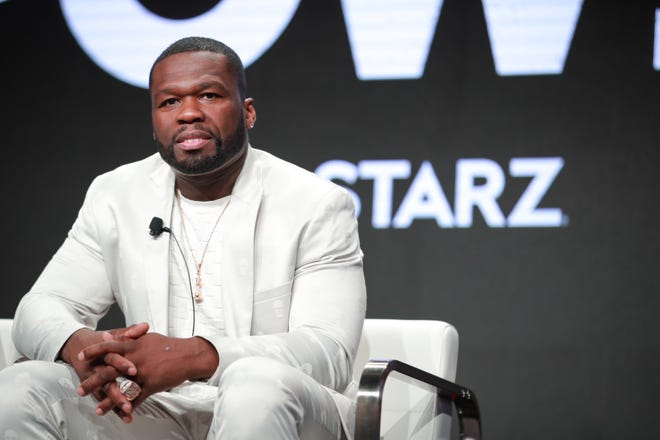 "Curtis ""50 Cent"" Jackson of 'Power' speaks onstage during the Starz segment of the Summer 2019 Television Critics Association Press Tour at The Beverly Hilton Hotel on July 26, 2019 in Beverly Hills, Calif."