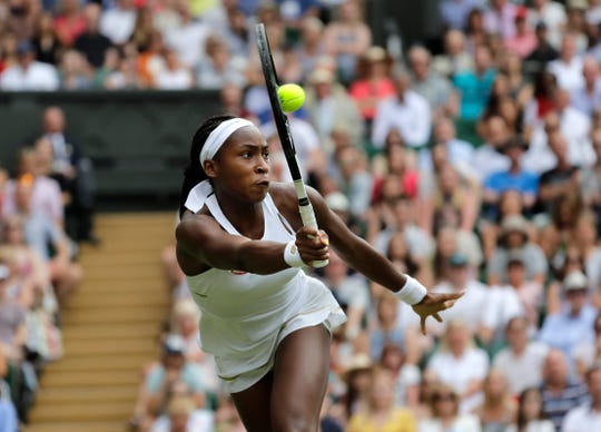 Coco Gauff emerged star at Wimbledon after the 15-year-old won three rounds at the All England Club.