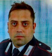 Officer Mario Cerciello Rega, 35, who was stabbed to death in Rome.