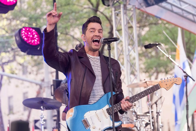 Andy Grammer performs on NBC's Today show at Rockefeller Plaza on Friday, July 26, 2019, in New York.