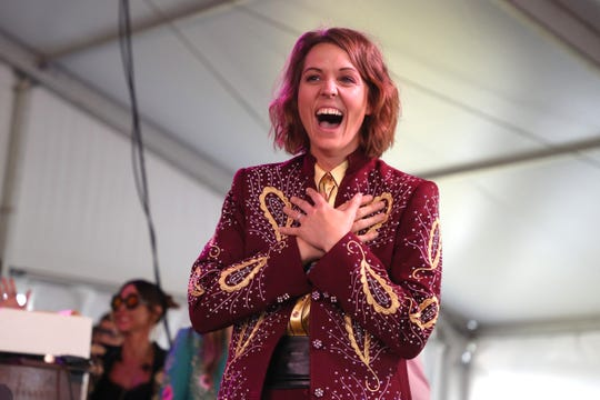 Grammy winner Brandi Carlile will close out the Mempho Music Festival at Shelby Farms Park in October.