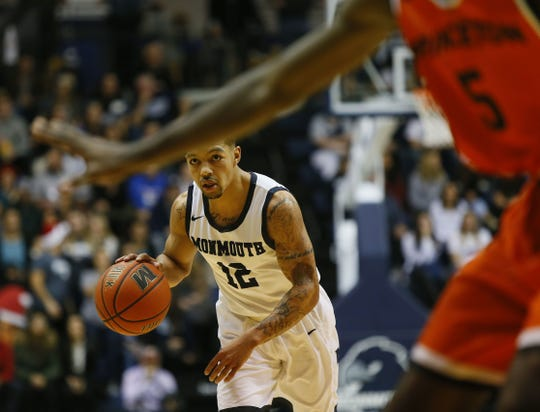 Justin Robinson's 27 points led Monmouth to a 96-90 win over Princeton in 2016.