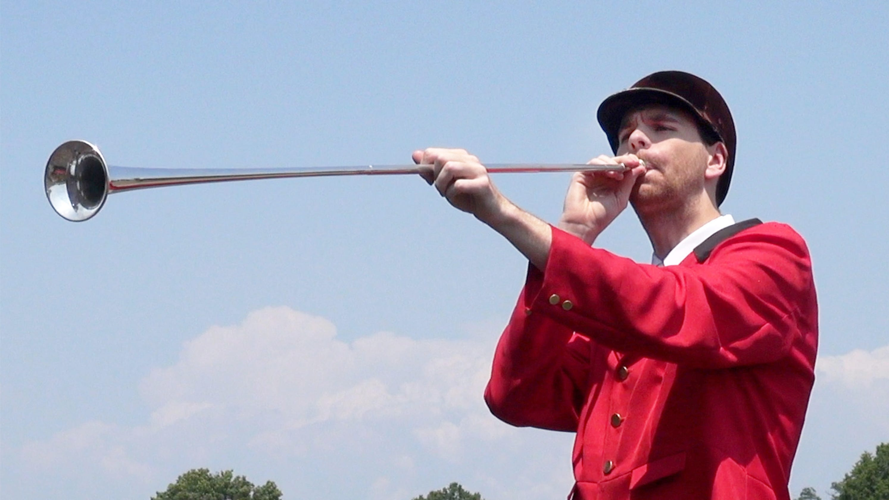 Monmouth Park bugler keeps tradition alive and well with