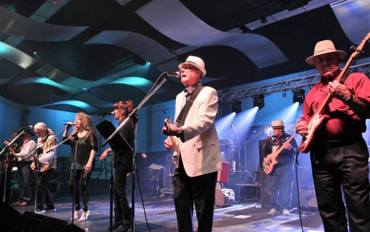 Blasts from the past, such as the Fabulous Furies, along with the Continentals and The Chevelle 5, joined other groups on stage for the 10th Garageband Woodstock at the Abilene Convention Center. About 1,200 attended.