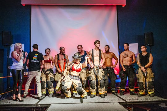 "The SPCA of Brevard's ""Men on Fire"" fundraiser  is Saturday, August 3."