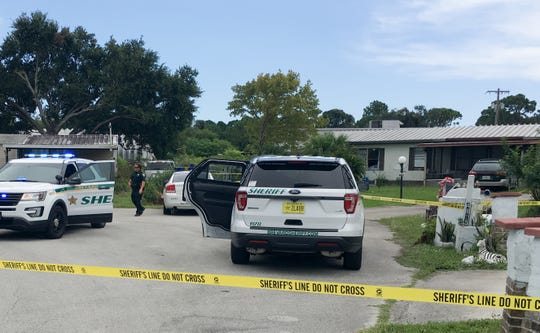 Deputies responded to an unspecified incident on Dolores Court in Canaveral Groves on Sunday