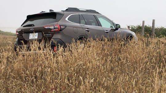 2020 Subaru Outback on California's Lost Coast in Mendocino County.