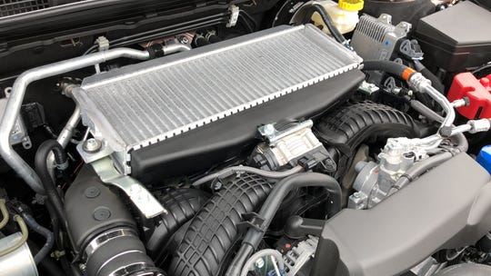 The 2020 Subaru Outback's turbocharged 2.4L horizontally opposed engine produces 260 hp.