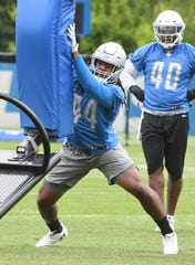 Lions linebacker Jalen-Reeves Maybin has played in 23 games his first two seasons.