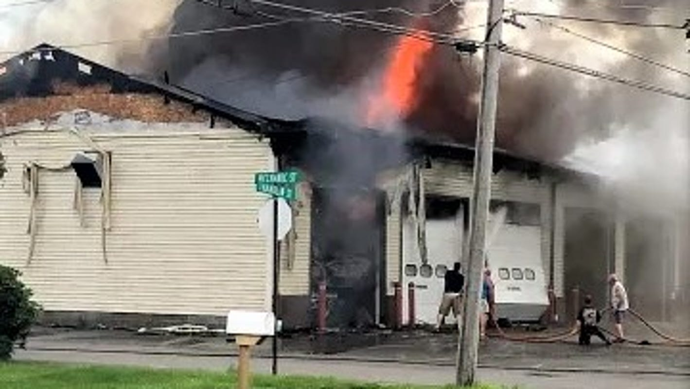 Lawrenceville, Pennsylvania fire hall heavily damaged in