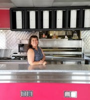 Teresa Alfaro inside her new restaurant space on Weinbach Avenue, soon to be the new Los Alfaro , on July 26, 2019.