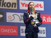 Lilly King caps Hoosiers' mega-meet with second and third golds at FINA World Championships