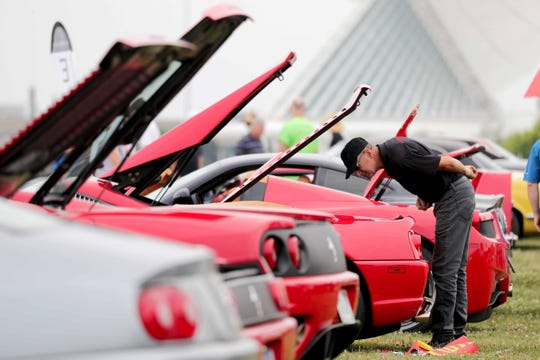 The car-curious will have their plateful at Veterans Park Sunday at the Milwaukee Concours d'Elegance car show.