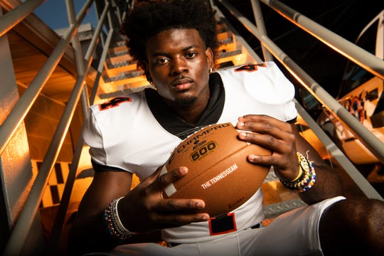 Ensworth's Keshawn Lawrence is the  No. 2 college football prospect in Tennessee as ranked by the USA Today Network - Tennessee.