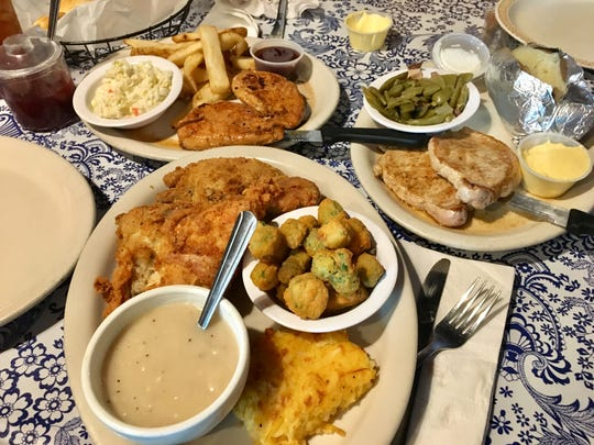 Fried chicken is the star of the show at Beacon Light Tea Room in Bon Aqua, Tenn., though many folks drive there for the tea biscuits