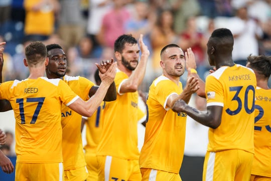 Nashville SC will host a USL Eastern Conference quarterfinal game on Oct. 26 at First Tennessee Park, its first-ever playoff home match.