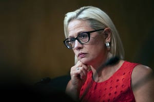 Sen. Kyrsten Sinema acknowledged the serious allegations swirling around the Trump administration and said senators shouldn't take partisan sides.