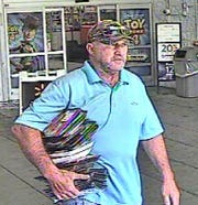 Springettsbury Township Police are seeking the identity of this man, suspected of retail theft at Walmart, 2801 E. Market St., on July 26.