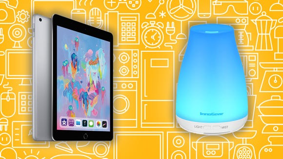 This Sunday, you can get huge savings on oil diffusers, iPads, and more.