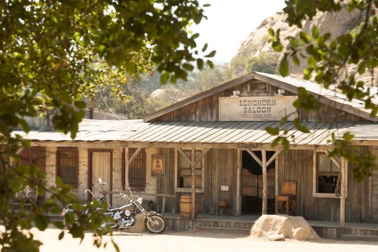 """Spahn Movie Ranch as depicted in """"Once Upon A Time in Hollywood."""""""