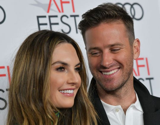Armie Hammer and his wife Elizabeth Chambers Hammer had to respond this weekend to a video of their son, Ford, sucking dad's toes.