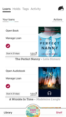 Why buy books when you can borrow them? Libby by OverDrive is an app that lets you borrow books from your local library – and there's no late fees!