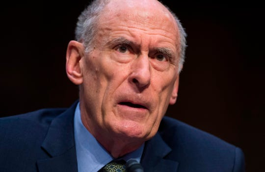 In this file photo taken on February 13, 2018 Director of National Intelligence Dan Coats testifies on worldwide threats during a Senate Intelligence Committee hearing on Capitol Hill in Washington, DC.