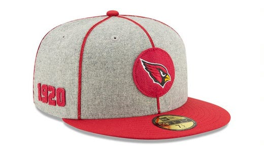 0f657536 NFL's 100th season: How New Era is celebrating with throwback hats