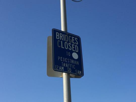Neptune will not stop locking pedestrian bridges between Asbury Park and Ocean Grove overnight.