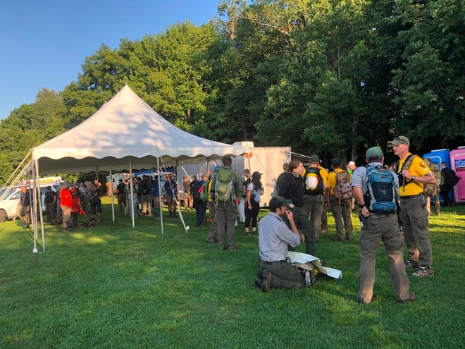 Nearly 200 search and rescue workers are now searching for Kevin Mark Lynch, who went missing in the Haywood County area of Great Smoky Mountains National Park July 27.
