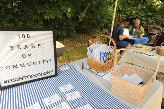 High Top Colony celebrated 100 years of community with a gathering at the YMCA Blue Ridge Assembly on July 27.