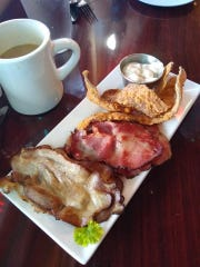 The Bacon Sampler Platter at Darci's Bacon Blues in Cape Canaveral is a must-try, according to Eric Mellert .