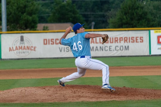 Drew Parrish of Rockledge is starting his pro baseball career with the Burlington (N.C.) Royals.