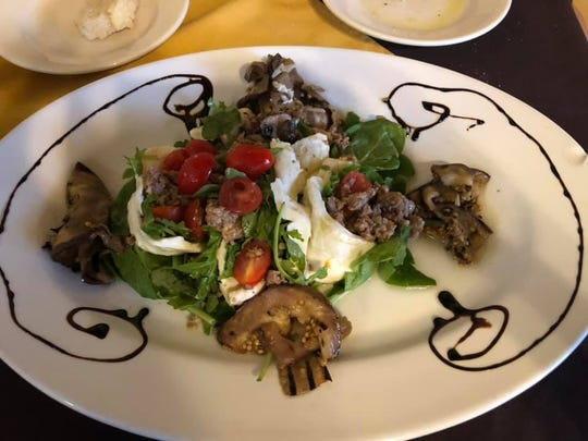 Dinner at Antonio and Vittoria's Italian Tavern in Satellite Beach is like eating with family, according to Sarah Aguila Piper.