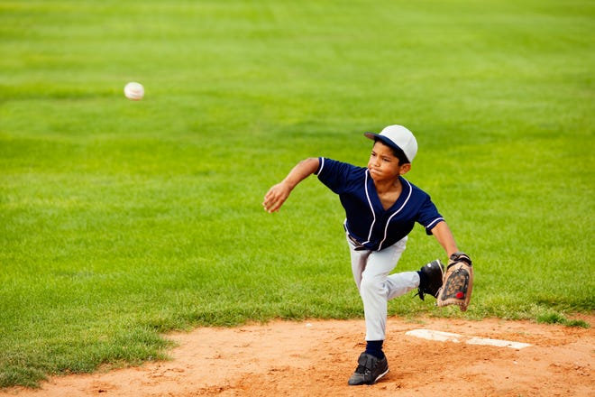 Kids 7 to 8 years old shouldn't throw more than 50 pitches per game.