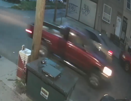 Police are seeking this vehicle in connection with a fatal hit-and-run accident in Camden on July 20.
