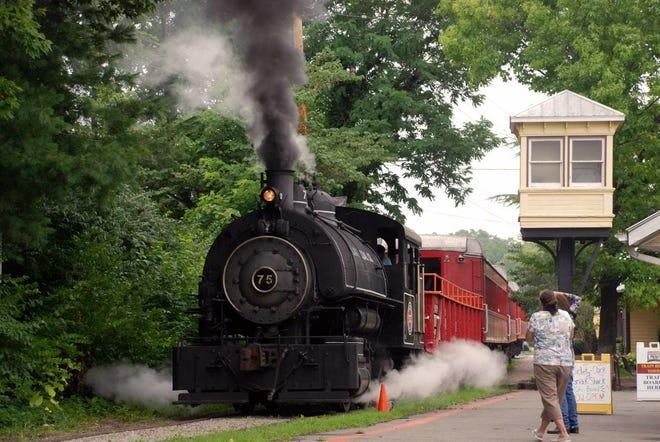 The Lebanon Mason & Monroe Railroad. (Enquirer file)